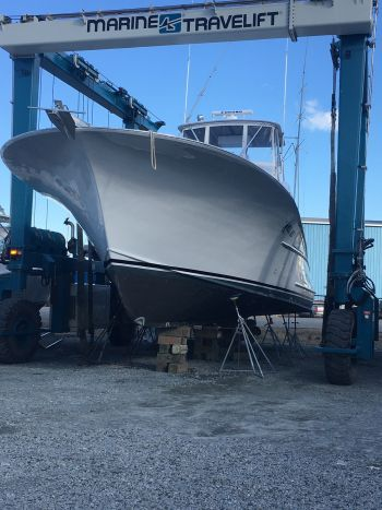 Carolina Girl Sportfishing Charters Outer Banks, Getting our new boat ready to go !