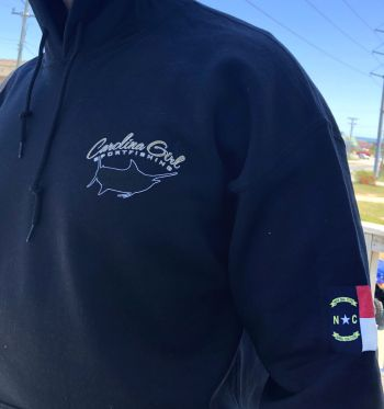 Carolina Girl Sportfishing Charters Outer Banks, Logo Hoodie